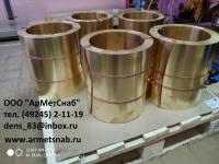 ЛАТУННАЯ ЛЕНТА ЛС59-1 0,5х300, 0,8х300 мм ДПРНТ ГОСТ2208-07