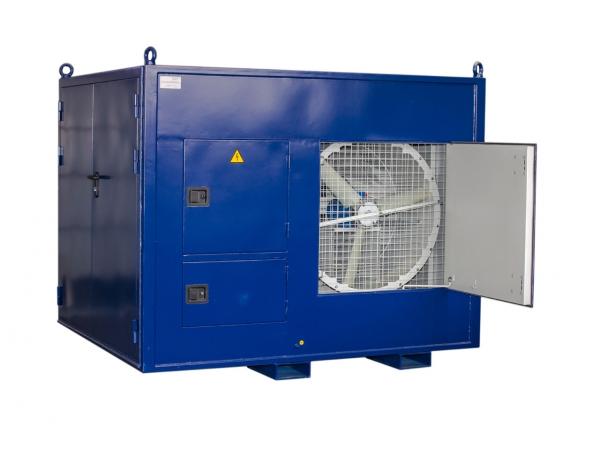 Нагрузочный модуль для проведения реостатных испытаний тепловозов ТЭМ2