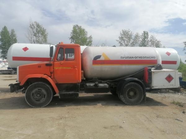 Доставка газа пропан, заправка газгольдера