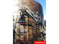 Металлоконструкции - ёмкость, бак, резервуар до 3000 куб метров