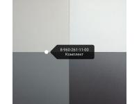Керамогранит 600*600*10 белый матовый арт. 400 РАЛ 9010