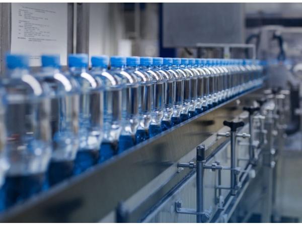 Линия розлива воды в ПЭТ тару производительностью до 600 бут/час