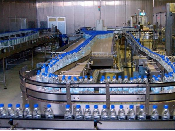 Линия розлива воды в ПЭТ тару производительностью до 2000 бут/час