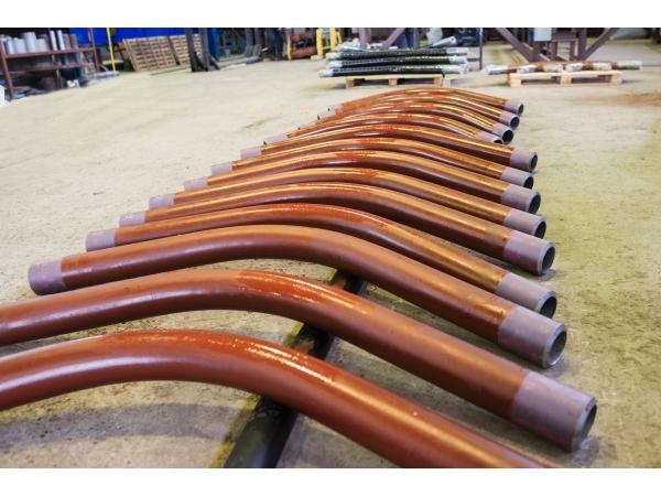 Отвод стальной гнутый с антикоррозионными покрытиями