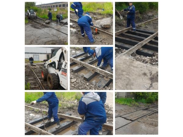 Ремонт железнодорожных переездов