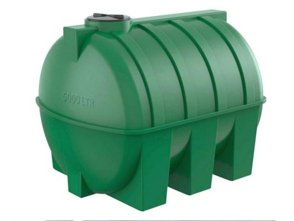Горизонтальная цилиндрическая емкость 5000 литров