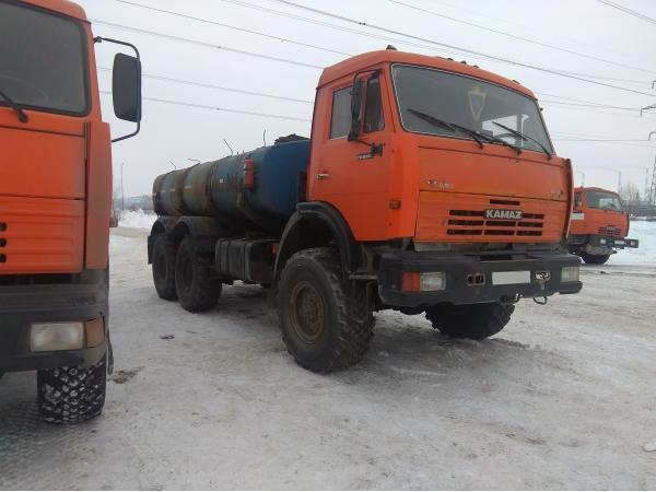 КАМАЗ 43118 автоцистерна