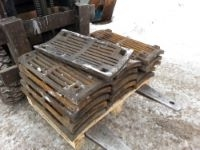 Решетки дробилок смд-114 (500) , 504/147, сталь 110г13л