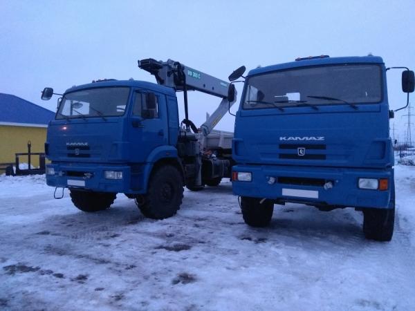 КАМАЗ 44108 тягач с ГМУ
