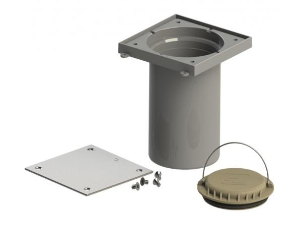 Лючок-прочистка / ревизия ТП-98.100  Ø110мм.