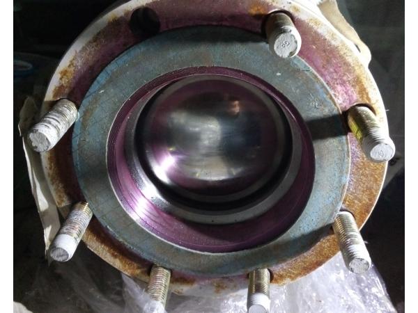 Кран (клапан) трехходовой ДУ -125, нерж, L/Т