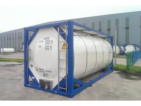 33 000$ Контейнер-цистерна тип Т11 25куб.м.  для перекиси водорода