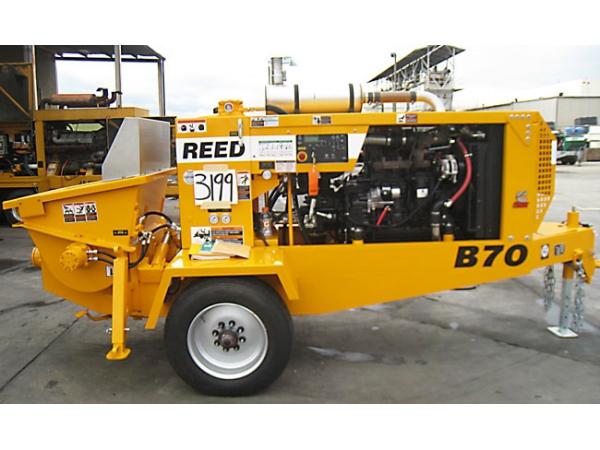Бетононасос  REED (США) B70 54 куб.м/час