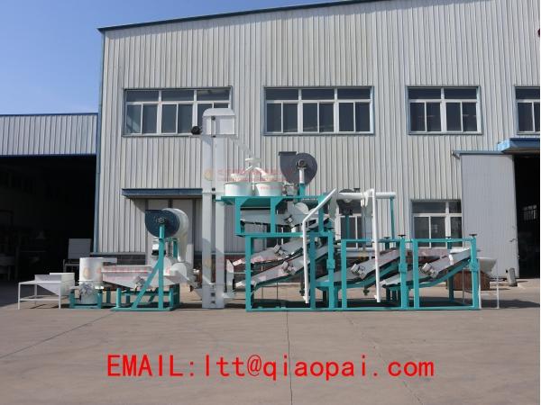 линия для очистки,шелушения и сепарации семян подсолнечника ТFKH-1500
