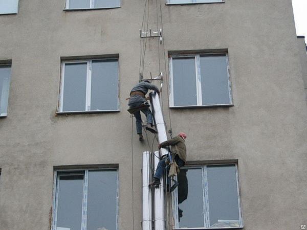 Монтаж воздуховодов вентиляции