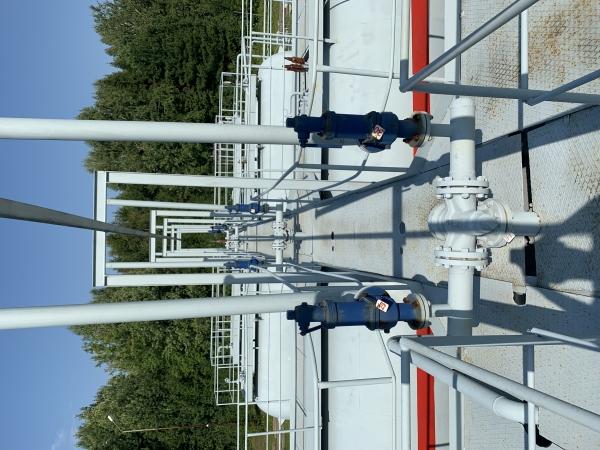Газонаполнительная станция 200 м3 (пропан)