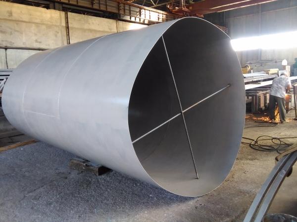 Изготавливаем силоса бункеры для сыпучих материалов вместимостью от 2