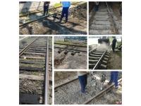 Замена шпал на железнодорожных подъездных путях, жд тупиках