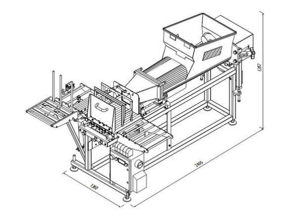Автомат фасовки сливочного масла, спредов в короба