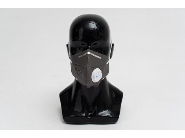 Респиратор медицинский с угольным фильтром и клапаном WALL 95СHK FFP2