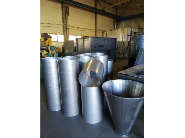 Обечайки конусы воздуховоды из листовой стали