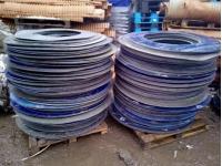 Закупаем ПНД круги,листы от рулонной стали