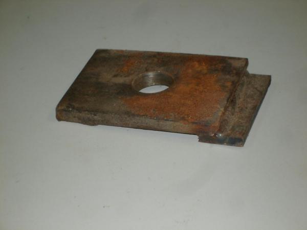 Накладка К1, подкладка К2 для рельс перекатки