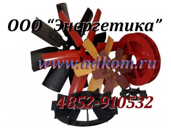 Вытяжной вентилятор обратной подачи для дизель-генераторов