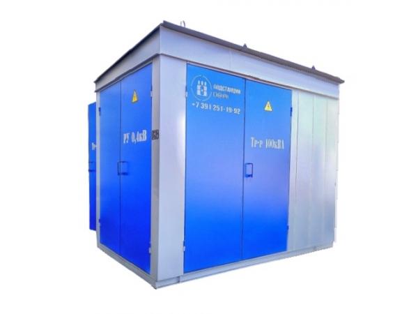 Комплектная трансформаторная подстанция КТПн 160 250 400 630 10/0,4