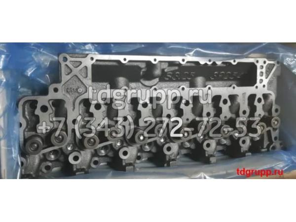 Головка блока цилиндров (ГБЦ) Komatsu S6D102E 6731-11-1370