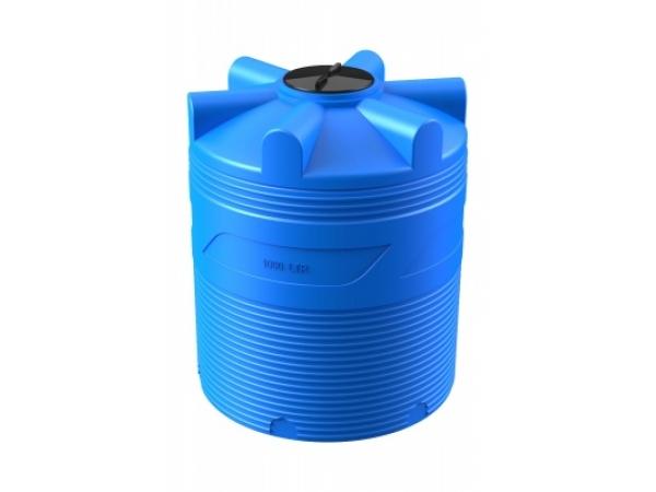 Пластиковая емкость вертикальная V 1000