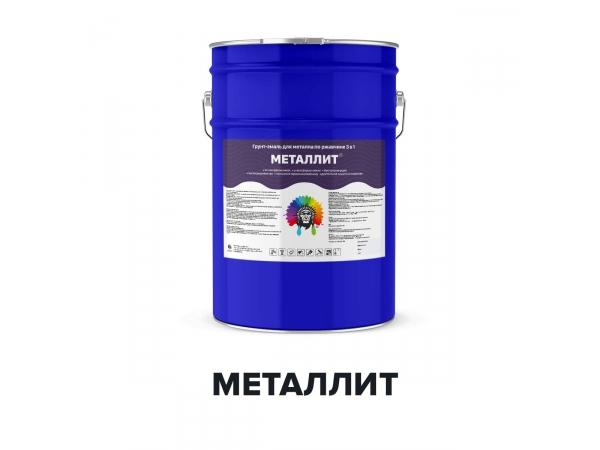 Алкидно-уретановая грунт-эмаль для металла - МЕТАЛЛИТ (Kraskoff Pro)