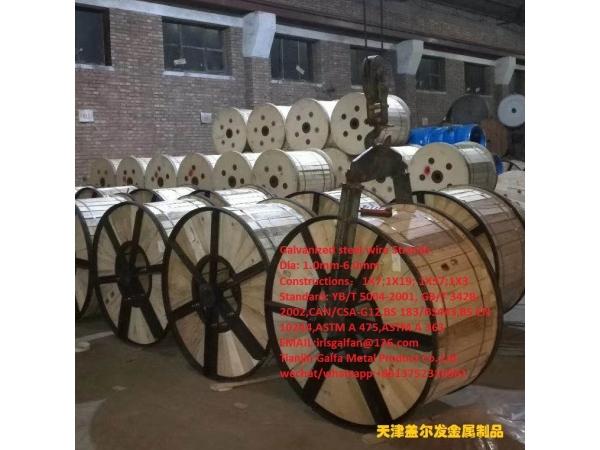 Zn-10%Al-mischmetal alloy-coated steel wire、strands