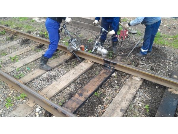 Рихтовка, выправка железнодорожных подъездных путей, жд тупиков