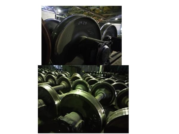Продам в март-мае 2021 колесные пары, рамы, балки, тормозное оборуд.