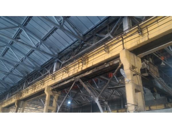 Ремонт подкранового пути мостового крана