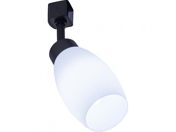 Светильник Feron AL156 трековый на шинопровод под лампу E14 чёрный