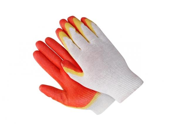 Перчатки рабочие 2-ым латексным покрытием Аленка