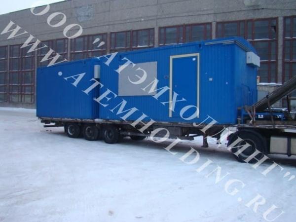 модульная/мобильная насосная станция, контейнерная насосная установка