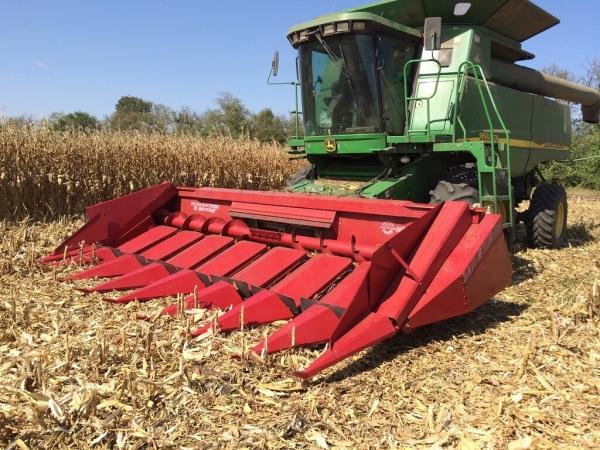Жатка для уборки кукурузы НАШ