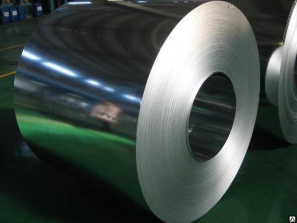 Лист оцинкованный (упаковка с пачек), толщина 0,3 - 0,8 мм, 52 руб/кг