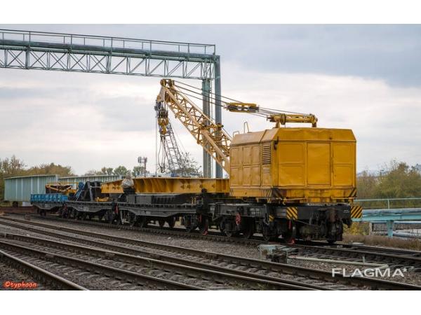 Железнодорожный кран КЖД-25 (электромагнит)