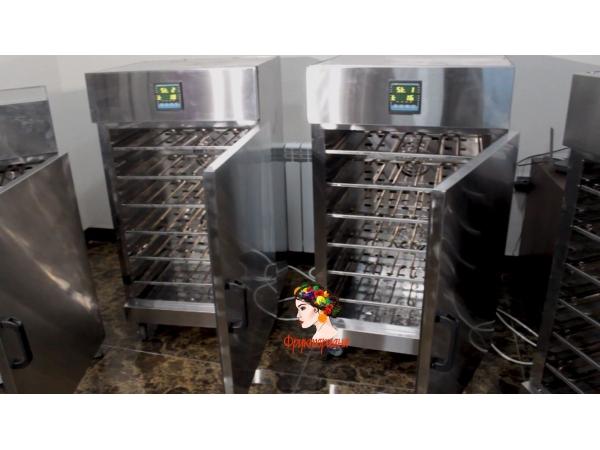 Сушильный ик-шкаф для сушки яблочных чипсов