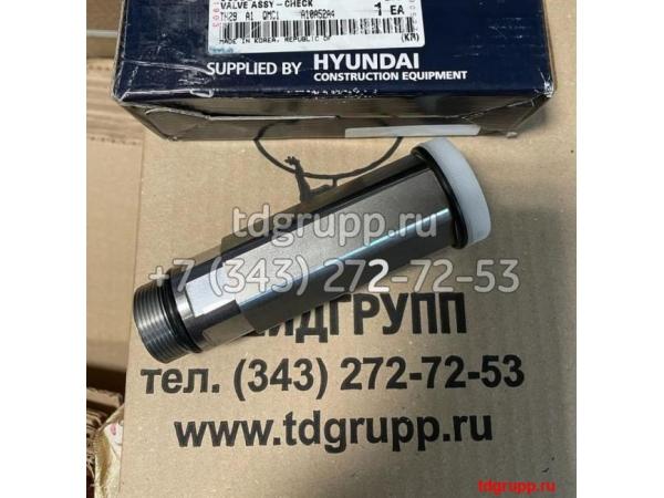 XKBF-00398 Клапан гидравлический Hyundai R330LC-9SH