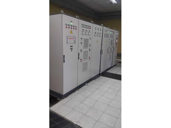 Щит контроля водорода и кислорода в воздухе (Автоматика для электролиз