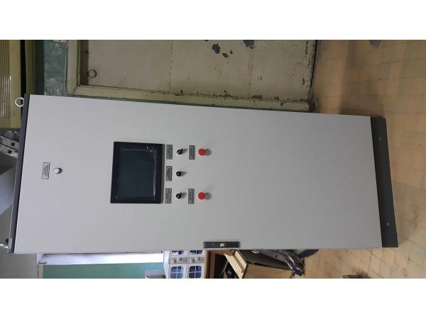 Щит управления с контроллером ЩУсК (Автоматика для электролизеров и эл