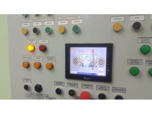 Автоматизация автоклавов для производства композитных материалов+АСУТП