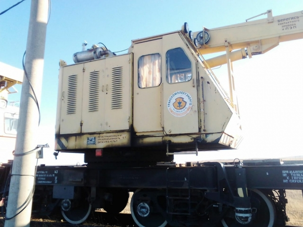 Железнодорожный кран КЖ-472