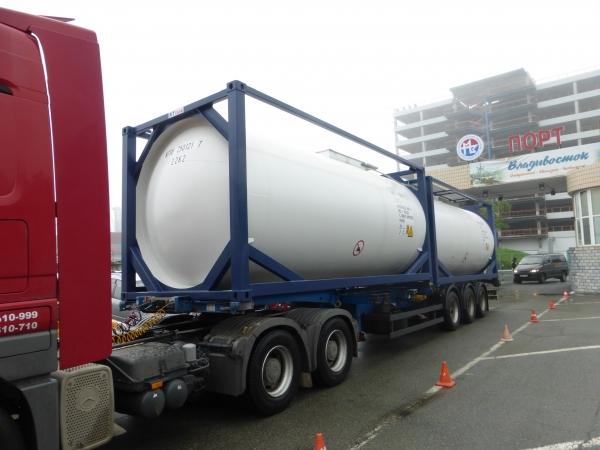 Танк-контейнер 25м3 тип Т4,для перевозки керосина,бензина,дизтоплива