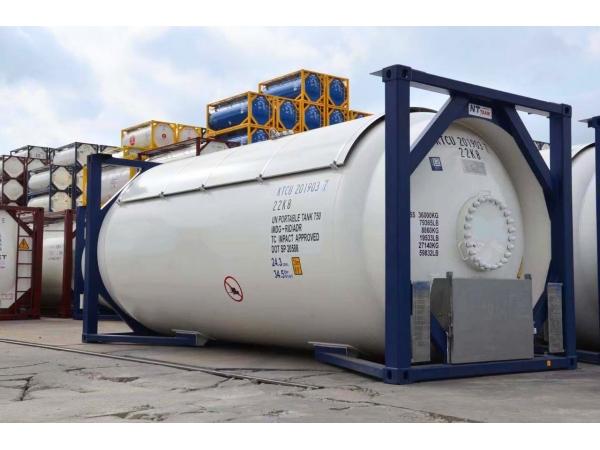 Танк-контейнер тип Т50 объём 24800 л., для перевозки и хранения СУГ.